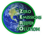ZERO logo, electric reefer solutions, electric Thermo King, electric reefer, carb compliant reefer, electric TRU